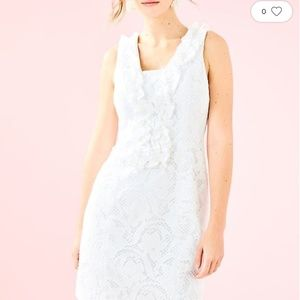NWT LILLY PULITZER KIERA WHITE LACE DRESS 2